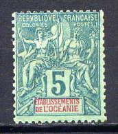 OCEANIE - N° 4* - TYPE GROUPE - Océanie (Établissement De L') (1892-1958)