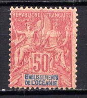OCEANIE - N° 11* - TYPE GROUPE - Océanie (Établissement De L') (1892-1958)
