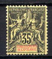 OCEANIE - N° 18* - TYPE GROUPE - Océanie (Établissement De L') (1892-1958)