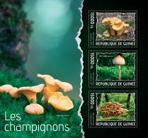 gu14111a Guinea 2014 Mushrooms s/s