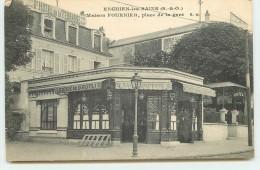 ENGHIEN-LES-BAINS - Maison Fournier, Place De La Gare - Enghien Les Bains