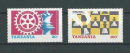 Tanzanie:275/ 276 **  Echecs