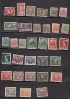 POLOGNE * LOT DE 32 TIMBRES FIFFERENTS NEUFS - 1919-1939 République