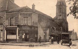 77  -  URY  -  Route D'Achères  - (Hôtel Du Cheval Noir) - Other Municipalities