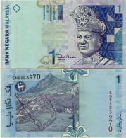 Malaysia 1 Ringgit  1998 Pick 39 UNC - Malaysia