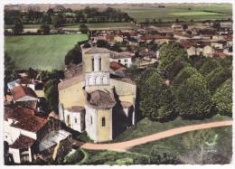 En Avion Au Dessus De Varaize - L'Eglise - A Circulé Sans Date Sous Enveloppe, Cpsm 10.5X14.7 - Francia