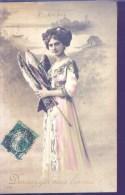 CPA - Ler Avril - Ecrite - Avec Timbre Perforé Du 5 Septembre 1910 - - 1 De April (pescado De Abril)