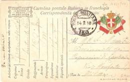 P.M.1915/1923-FRANCHIGIA P.M. 180 - Poste Militaire (PM)