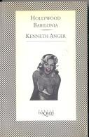 """""""HOLLYWOOD BABILONIA"""" DE KENNETH ANGER-EDIT.TUSQUETS-AÑO 1994-PAG. 392-FOTOS EN BLANCO Y NEGRO-USADO-GECKO. - Cultural"""