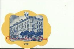 HOTEL LABEL   ---   BRNO, CZECH  --   GRAND HOTEL - Hotelaufkleber