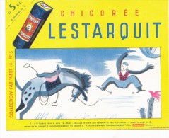Buvard (format 182x119mm) - B1322 -  Chicorée Lestarquit  ( Non  Utilisé) - Buvards, Protège-cahiers Illustrés