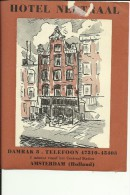 HOTEL LABEL   ---   AMSTERDAM, NEDERLAND  --    HOTEL NEUTRAAL - Hotelaufkleber