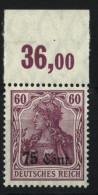Etappe West,9a,OR,Marke Xx,Falz Im OR,gep. - Besetzungen 1914-18