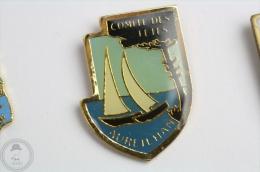 Comité Des Fêtes - Aureilhan -  Pin Badge  #PLS - Barcos