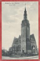 Polska - Polen - Poland -  PRAUSNITZ Bez. BRESLAU - PRUSICE - Evang. Kirche - Stempel Lazarett - Roten Kreuz - Schlesien