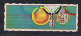 Olympische Spelen  1972 , Ajman - Zegel  Postfris - Ete 1972: Munich