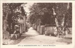 83 LA ROQUEBRUSSANNE  FONTAINE  ROUTE DE MAZAUGUES SUPERBE - La Roquebrussanne