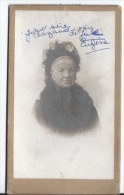 PHOTO Femme  ,support Cartonné - Identifizierten Personen