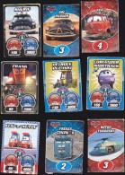 Lot De 25 Cartes Cars Et Le Monde De Cars - Années 2009/2010 - Disney