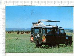 KENYA  -  Safari  -   Véhicule - Kenya