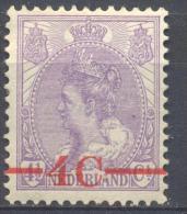 4Jj-600:  N° 106: Postfris - 1891-1948 (Wilhelmine)