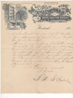 Montreal -  F.X. St Charles & Co  - Grocers Cigar & Wine Merchants - 1899 - Canada