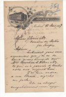 Montreal -  St Lawrence Hall - Henry Hogan Proprietor - 1897 - Canada