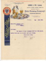 Toronto -  George J.Foy Limited - Importer Of Wines Liquors Cigar Etc... - 1910 - Canada