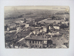 Cartolina/postcard Saluti Da LUCINO (Como)  Panorama 1943 (Montano Lucino) - Como
