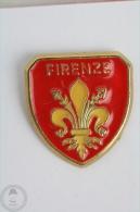 Firenze  Shield - Pin Badge  #PLS - Ciudades