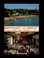 35 - CANCALE - Restaurant La Godille - Carte Pub - Cancale