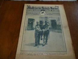 CB2 Illustrierter Kriegs Kurier N°40 Isonzo Prisonniers Italiens - Kranten