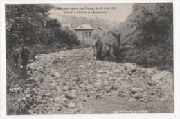 ELBEUF - Ravages Causés Par L'orage Du 30 Juin 1908 - La Cavée Des Ecameaux - Elbeuf