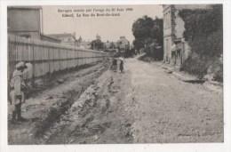 ELBEUF - Ravages Causés Par L´orage Du 30 Juin 1908 - La Rue Du Bout Du Gard - Elbeuf