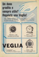 # VEGLIA BORLETTI SVEGLIE OROLOGI HORLOGERIE 1950 Italy Advert Publicitè Reklame Orologio Montre Uhr Reloj Relojo Watch - Montres Publicitaires