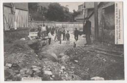 ELBEUF - Ravages Causés Par L´orage Du 30 Juin 1908 - La Cavée Des Ecameaux - Elbeuf