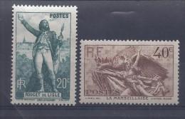 FRANCE - N° 337 Et 338 Neufs * Avec Trace De Charnière - C: 6,50  € - Neufs