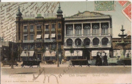 MONTEVIDEO CLUB URUGUAY GRAND HOTEL 1906 - Uruguay