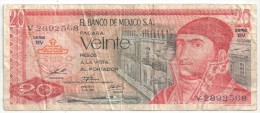 MEXICO - VEINTE PESOS - 20 PESOS - Mexique