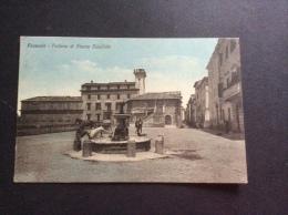 FRASCATI - Fontana Di Piazza Cavallotti, Animata - Cartolina FP V 1919 - Italia