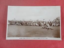 Asia > Yemen    RPPC  Camel Races  Fair Day Sheikh Othman  Ref 1404 - Yemen