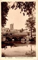 TROYES : Pont Des Abattoirs Et Saint-Pierre - Troyes