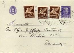 1945 BIGLIETTO POSTALE - 4. 1944-45 Repubblica Sociale