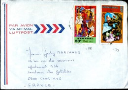 Enveloppe Par Avion Du Sénégal à Chartres (28) - Senegal (1960-...)