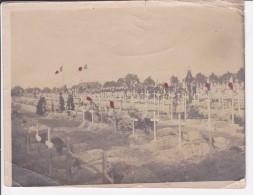 Photo Originale Enterrement Guerre 1914 -1918 ? - Auto's