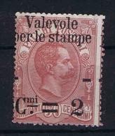 Italy:   1890 Sa  52, Not Used (*) S.g. - 1878-00 Humbert I.