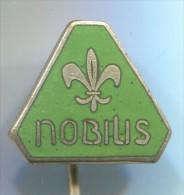 SCOUT, Scoutisme, Eclaireur -  NOBILIS, Enamel, Pin, Badge - Padvinderij