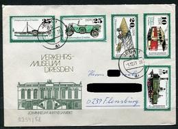 DDR Nr.2254/8    Sammler Brief  Gelaufen (B203) (Jahr:1977) Jena - Flensburg - Covers & Documents