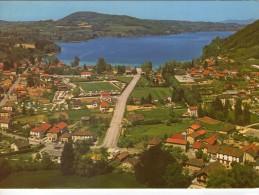 Charavines-les-Bains.. Belle Vue Du Village.. Le Lac De Paladru - Charavines