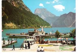 Österreich - Dampferstation In Ebensee Am Traunsee - Schiff - Ship - Dampfer - Paquebots